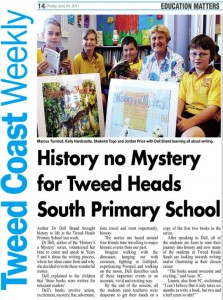 Dell visits Tweed Heads South Primary School